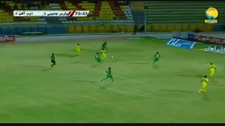 خلاصه بازی پارس جنوبی جم 0 - 0 ذوب آهن