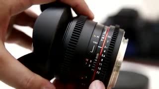 لنز سامیانگ سینمایی فوق واید 14 میلیمتری،اجاره لنز و دوربینهای عکاسی و فیلمبرداری