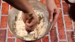 نان پنیری - آموزش آشپزی