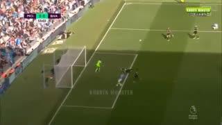 خلاصه بازی منچسترسیتی 4 - برایتون 0 ( لیگ برتر انگلیس )