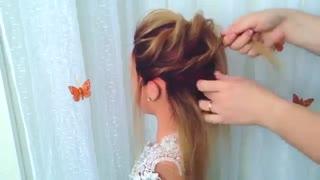 آموزش مدل مو دخترانه نامنظم برای موهای کوتاه- مومیس مشاور و مرجع تخصصی مو
