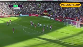 خلاصه بازی تاتنهام 2_2 آرسنال (هفتۀ چهارم لیگ برتر انگلیس)