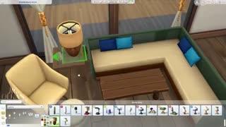 خانه مدرن ساحلی برای سیمز4