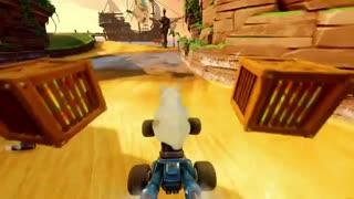 تریلر بازی  Crash Tteam Racing Nitro-Fueled برای پلی استیشن 4