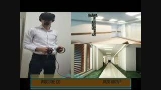 واقعیت مجازی در صنعت ساختمان