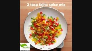 نحوه تهیه  یک غذای سالم و خوشمزه با مرغ - سبزی لاین