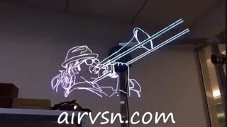 با نمایشگرهای هولوگرافی سه بعدی ایرویژن مخاطبان خود را شگفت زده کنید.