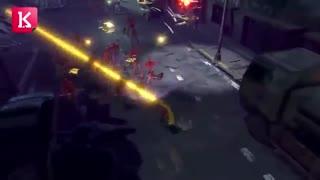 تریلر معرفی بازی Contra- Rogue Corps