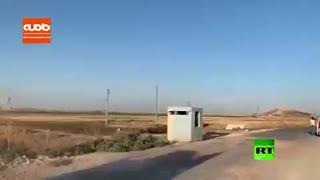 نخستین حضور گشتیهای مشترک آمریکا و ترکیه در شمال سوریه
