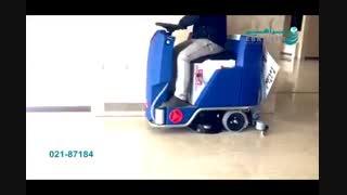 اسکرابر خودرویی - قدرت مانور بالا