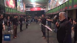 عزاداری شب تاسوعا در تهران