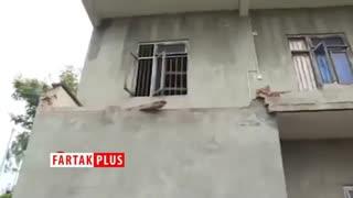 خسارتهای ناشی از زلزله ۵.۴ ریشتری در چین