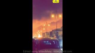 فوری، انفجار گسترده در عربستان (شرکت نفت آرامکو)