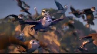 دوبله فارسی انیمیشن مانو پرنده چابک Birds of a Feather 2019