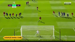 خلاصه بازی منچستریونایتد 1_0 لسترسیتی (هفتۀ پنجم لیگ برتر انگلیس)