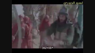 فیلم شهادت حضرت ابوالفضل با آهنگهای علی عبدالمالکی
