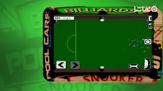Billiards Pool Car Crash: Demolition Derby Racing