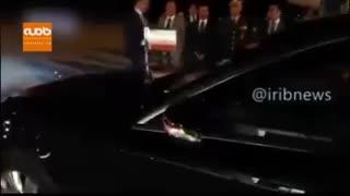 ورود رئیس جمهور به آنکارا