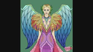 نقاشی دیجیتالی فرشته