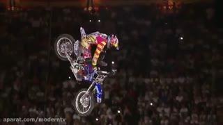بهترین پرش ها نمایشی با موتور سیکلت