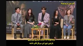 """کنفرانس مطبوعاتی سریال آوره """"Vagabond""""  (شین سونگ روک ، لی سونگ گی و سوزی)"""