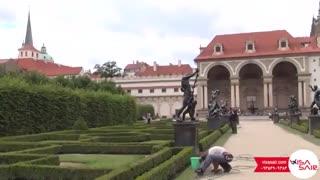 کاخ والنستاین جمهوری چک - Wallenstein Palace - تعیین وقت سفارت چک با ویزاسیر