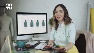 معرفی نرمافزار Maderight: از طراحی تا سفارش لباس (با زیرنویس فارسی)