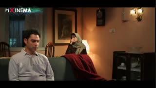 بمب یک عاشقانه ، صحبت های میترا(لیلا حاتمی) با ایرج(پیمان معادی) زیر بمباران