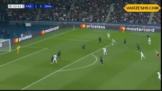 خلاصه بازی پاریسنژرمن 3_0 رئال مادرید (هفتۀ اول دور گروهی لیگ قهرمانان اروپا)