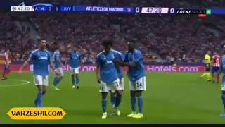 خلاصه بازی اتلتیکو مادرید 2_2 یوونتوس (هفتۀ اول دور گروهی لیگ قهرمانان اروپا)