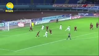 خلاصه بازی پدیده شهرخودرو 0_1 فولاد خوزستان (هفتۀ چهارم لیگ برتر)