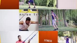 آموزش تمرینات ورزشی با کش بدنسازی - Band Resistance Training - Band Exercises