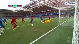 خلاصه بازی چلسی 1 - لیورپول 2 (لیگ برتر انگلیس)