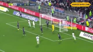 خلاصه بازی پاریسنژرمن 1_0 لیون (هفتۀ ششم لیگ 1 فرانسه)