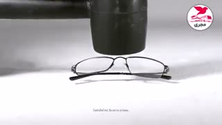مقاومت عینک Flexon