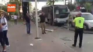خبرگزاری آناتولی گزارش کرد در انفجار آدانا ۵ نفر مجروح شدهاند