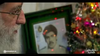 حضور رهبر انقلاب منزل خانواده شهید مسیحی(حواریون شهید)