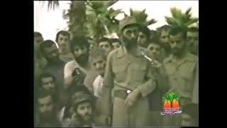 حضور رهبر معظم انقلاب در جبهه های دفاع مقدس