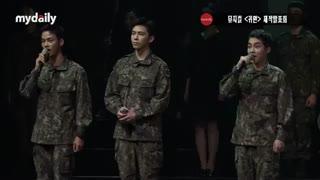 온유(SHINee ONEW)·시우민(EXO XIUMIN) military musical