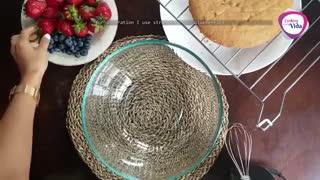 طرزتهیه کیک اسفنجی ساده