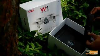 جعبه گشایی کوادکوپتر دو دوربینی syma w1/ایستگاه پرواز