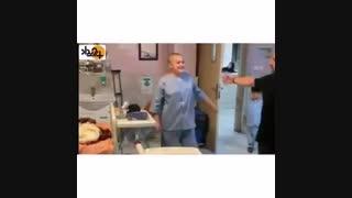 امین حیایی آرزوی کودک سرطانی را برآورده کرد