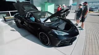 نکاه نزدیک به 2020 Chevy Corvette 1LT