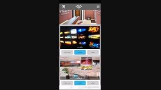 آموزش دانلود عکس و سفارش تابلو از اپلیکیشن بکلیت