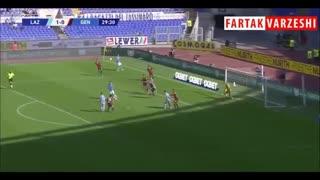 خلاصه بازی لاتزیو 4 - 0 جنوا