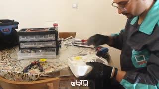 سیم کشی ساختمان و برق کشی با آچاره