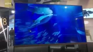 تلویزیون شفاف پاناسونیک