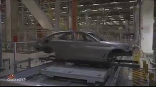 نمایشی از خط تولید خودروی BMW