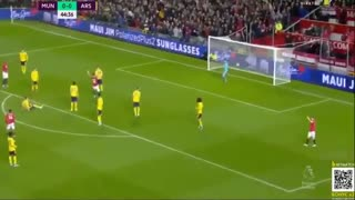 خلاصه بازی منچستریونایتد 1 - آرسنال 1 (لیگ برتر انگلیس)