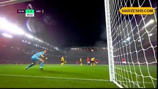 خلاصه بازی منچستر یونایتد 1_1 آرسنال (هفتۀ 7 لیگ برتر انگلیس)